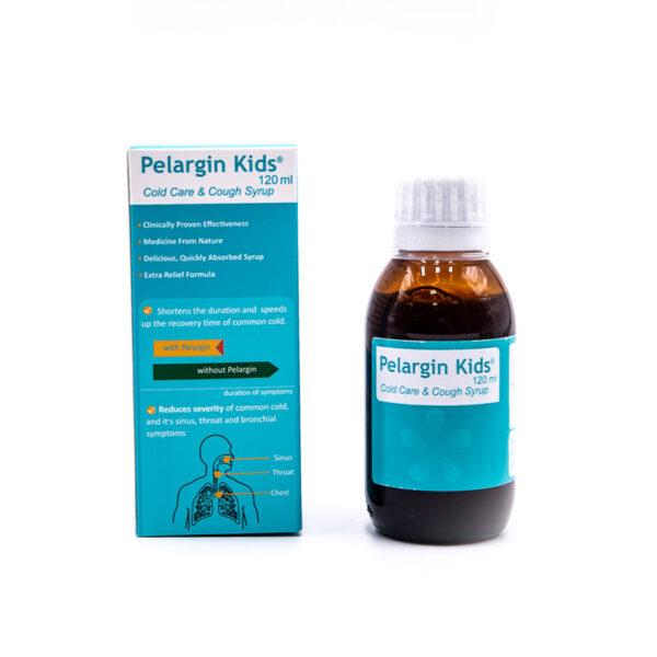 شربت سرماخوردگی و ضد سرفه پلارژین کیدز Pelargin Kids