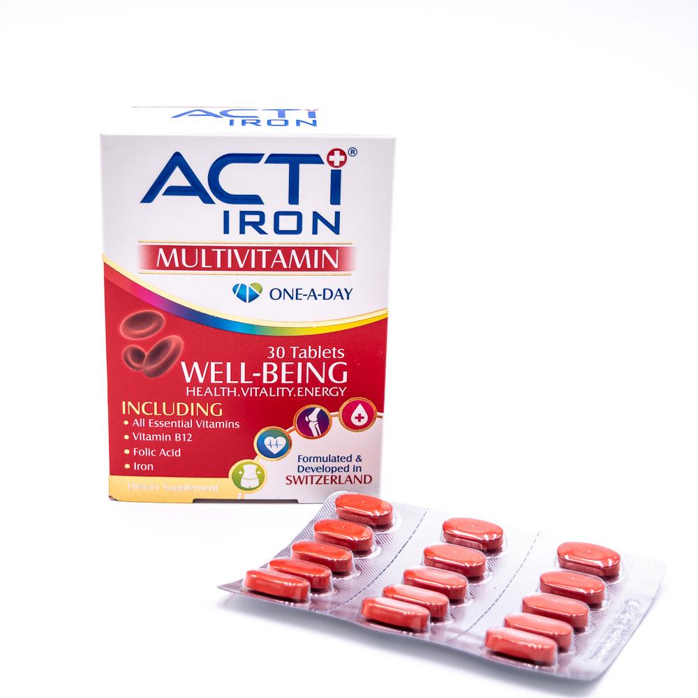 قرص اکتی آیرون ACTI IRON