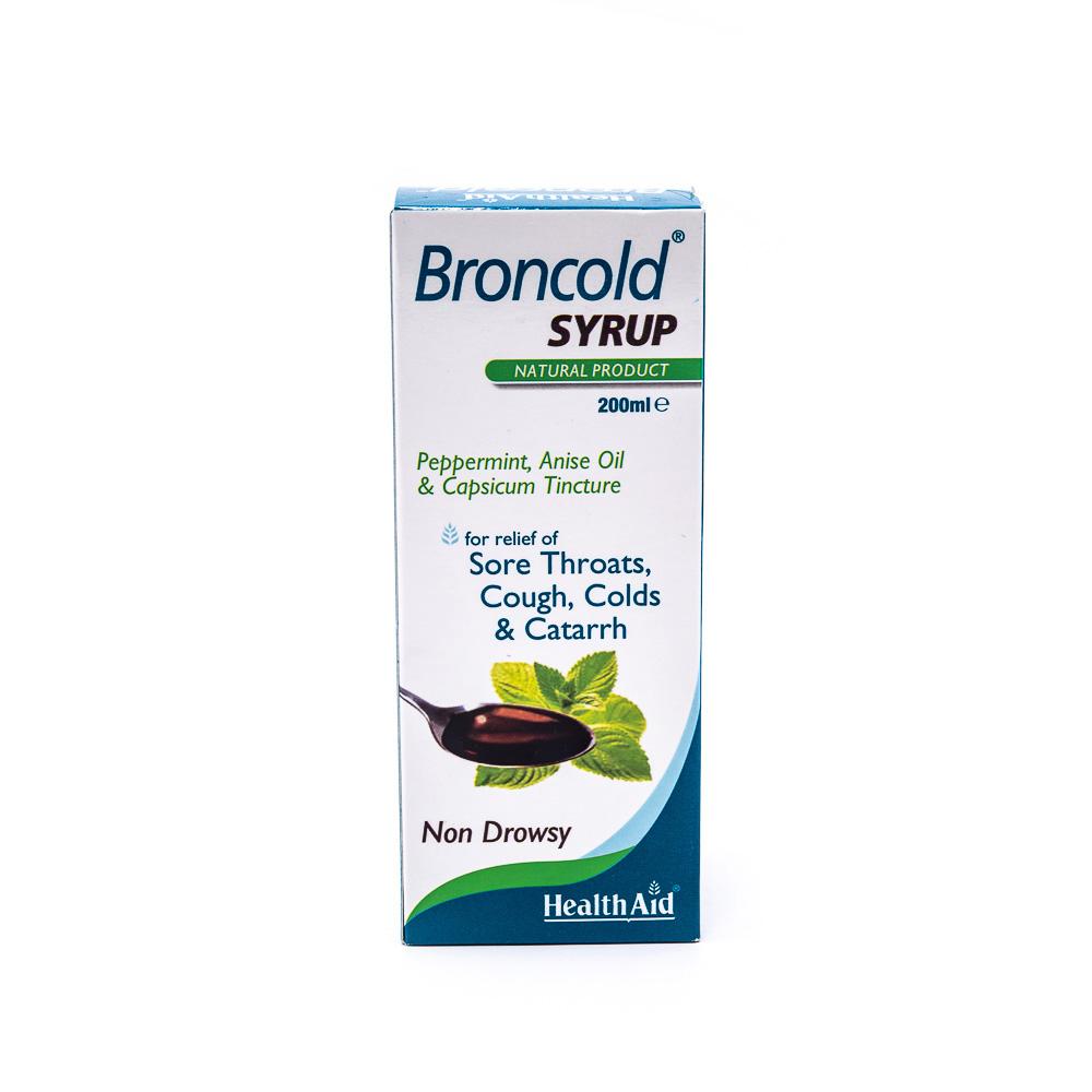 شربت گیاهی برون کلد هلث اید Broncold Health Aid