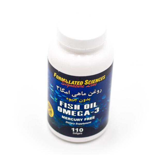 سافت ژل روغن ماهی امگا 3 بدون جیوه فرمولیتد Omega3