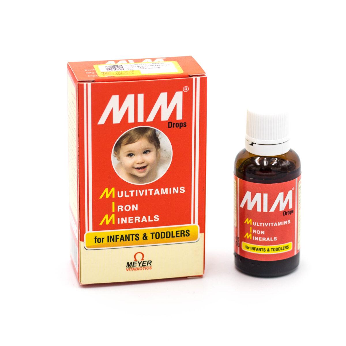 قطره مولتی ویتامین میم MIM