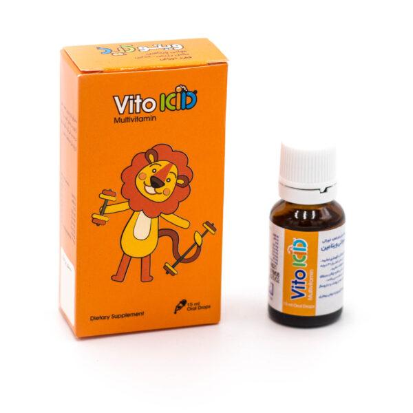 قطره مولتی ویتامین ویتوکید Vitokid