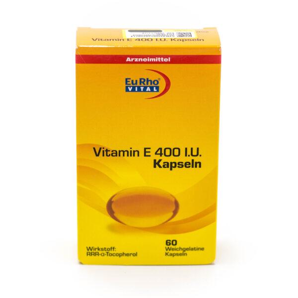 کپسول ویتامین E یوروویتال EuRhovital