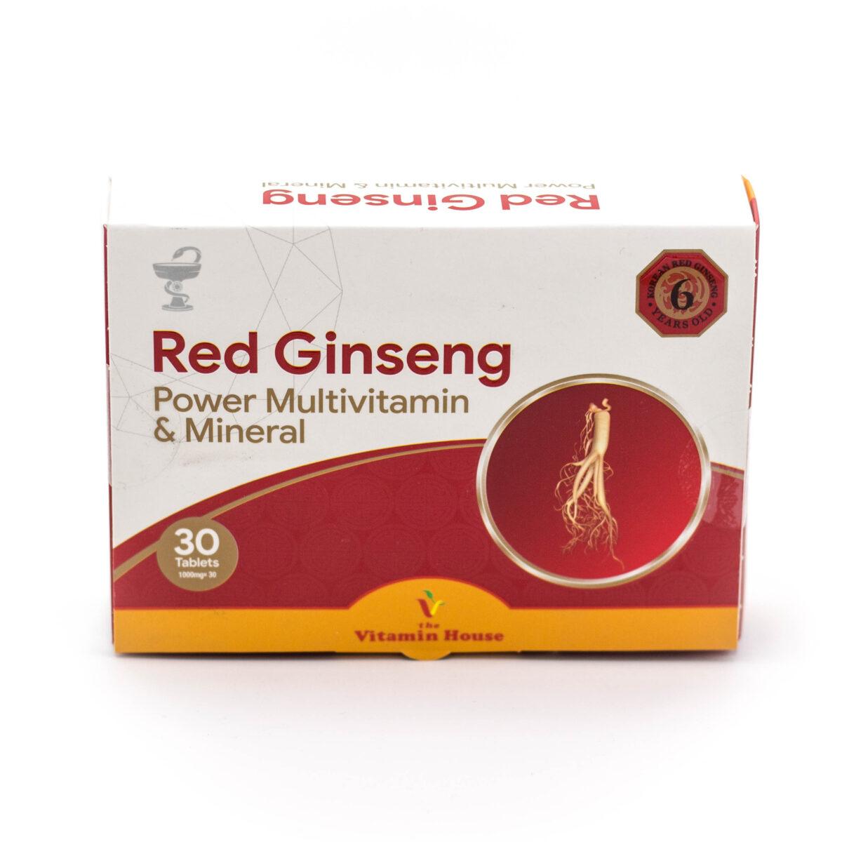 ردجینسینگ پاور مولتی ویتامین و مینرال Red Ginseng