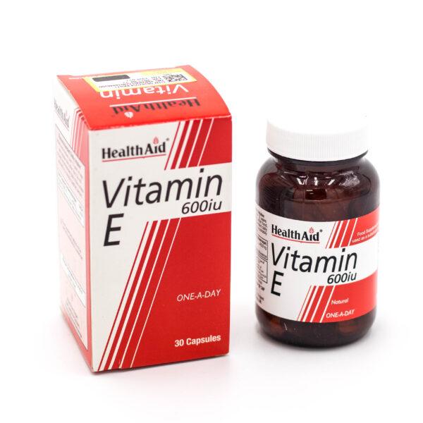 کپسول ویتامین ایی هلث اید 600 واحد