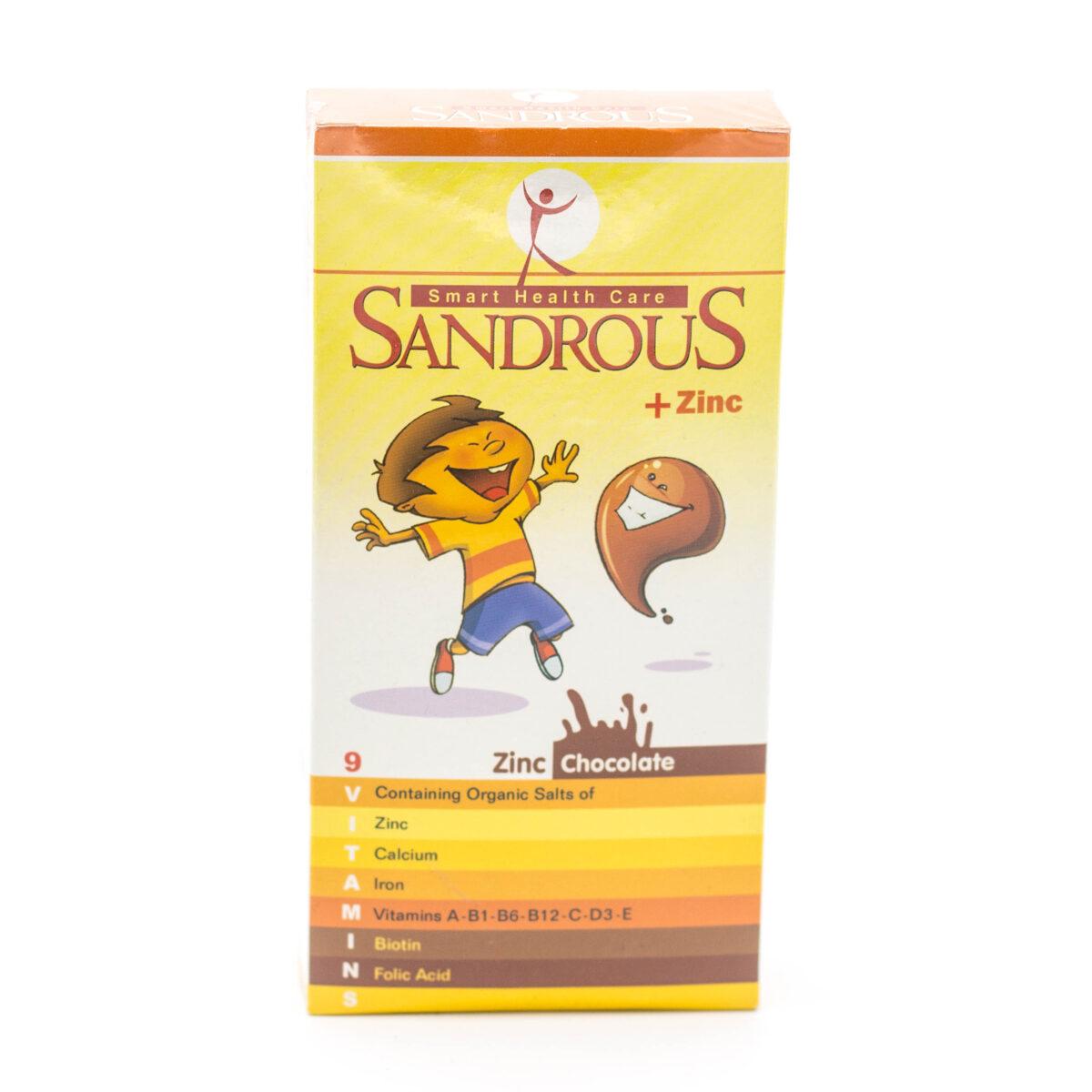 شربت سندروس پلاس زینک SANDROUS