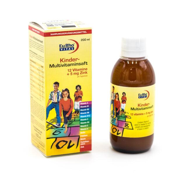 شربت مولتی ویتامین کیندر یوروویتال EuRhovital