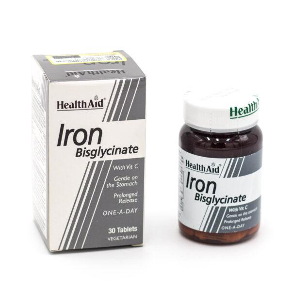 قرص آهن و ویتامین ث هلث اید