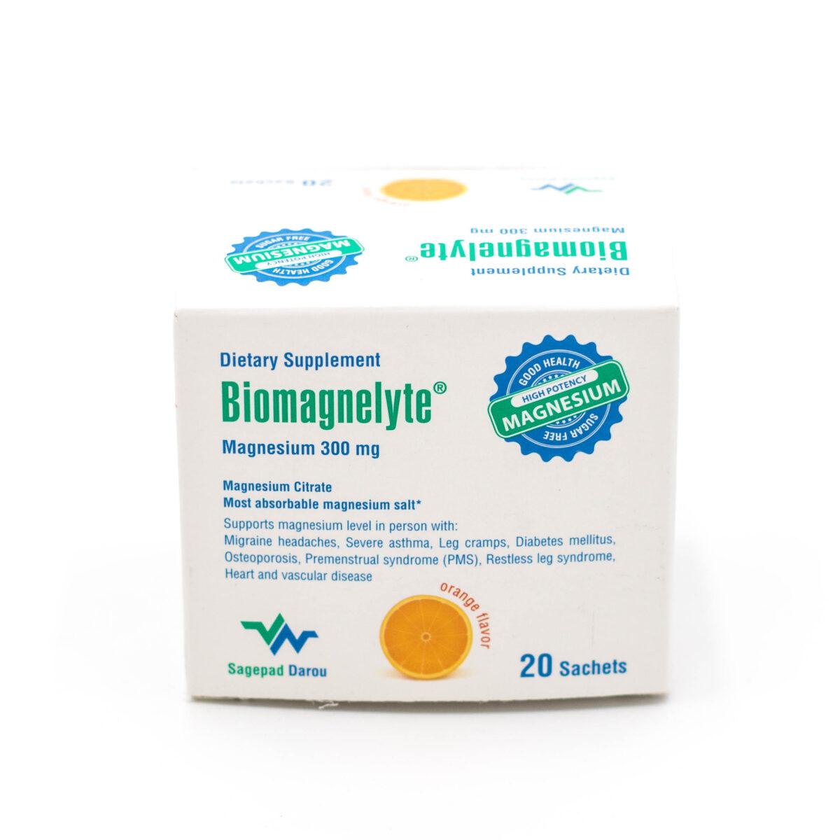 ساشه منیزیم سیترات بیومگنلیت Biomagnelyte