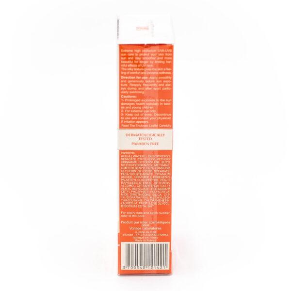 کرم ضد آفتاب مناسب انواع پوست Ellaro الارو با SPF 50 حجم 50 میلی لیتری
