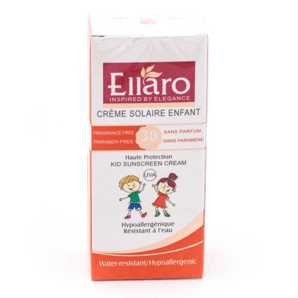 کرم ضد آفتاب کودک Ellaro الارو با SPF 30 حجم ۵۰ میلی لیتری