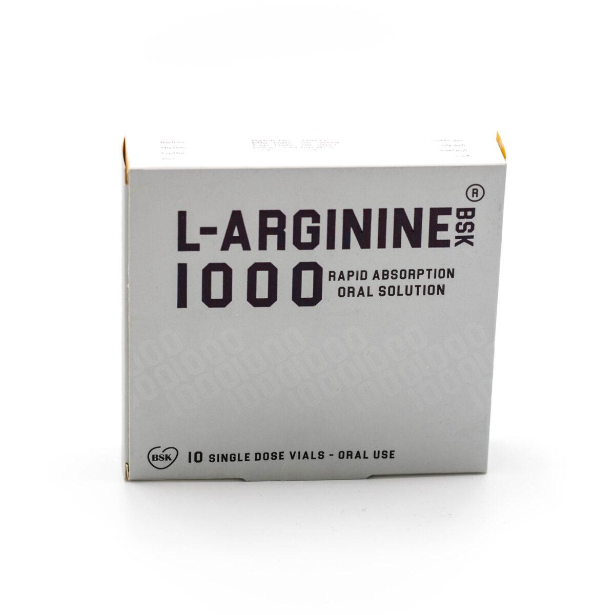 ال-آرژینین بی اس کی 1000® 10 ویال خوراکی