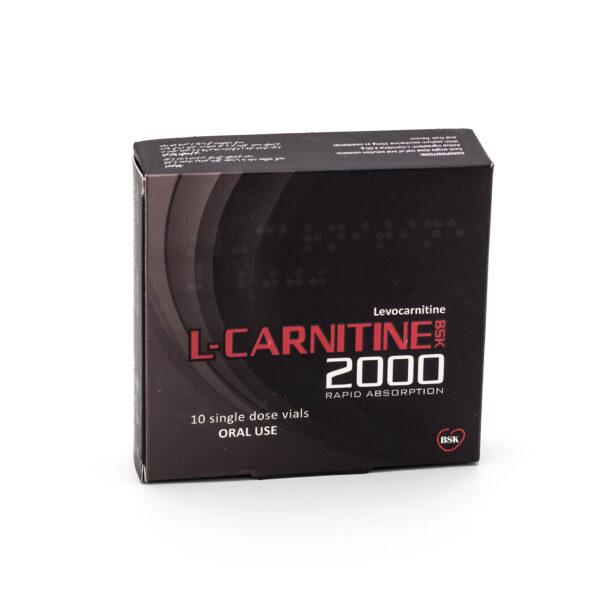 ال-کارنیتین بی اس کی ۲۰۰۰® 10 ویال خوراکی