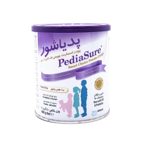 پودر مکمل غذایی پدیاشور با طعم وانیل مناسب کودکان ۲ تا ۱۰ سال Pedia Sure
