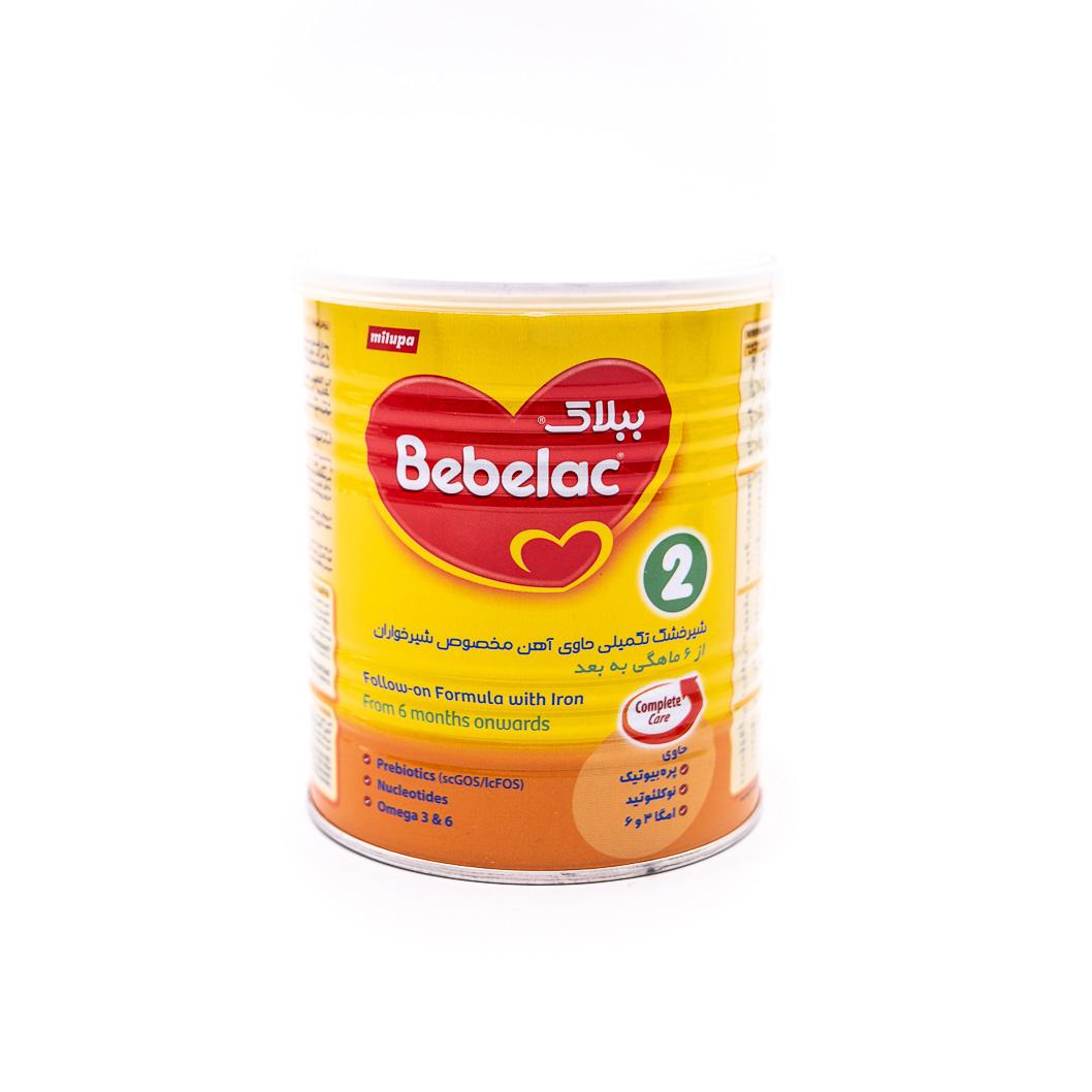 شیر خشک ببلاک 2 میلوپا 400 گرمی Bebelac