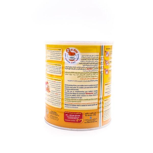 شیر خشک ببلاک ببجونیور میلوپا 400 گرمی Bebelac Bebejunior
