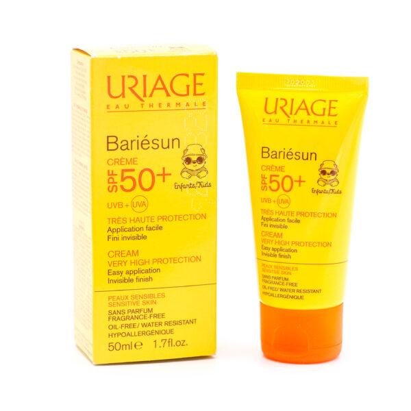 کرم ضدآفتاب بدون عطر اوریاژ سری Bariesun با SPF50+ حجم 50 میلی لیتری Uriage