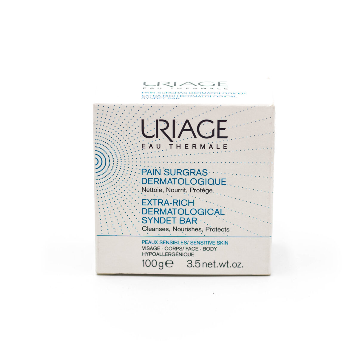 پن پاک کننده سورگرس اوریاژ مناسب پوست های خشک 100 گرمی Uriage