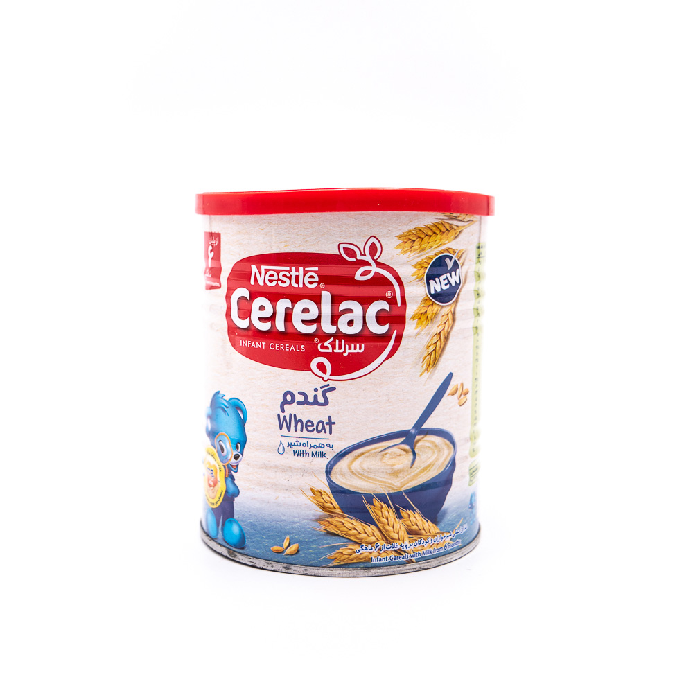 سرلاک گندم به همراه شیر نستله Nestle Cerelac