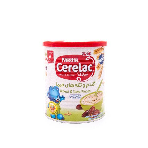 سرلاک گندم و خرما به همراه شیر نستله Nestle Cerelac