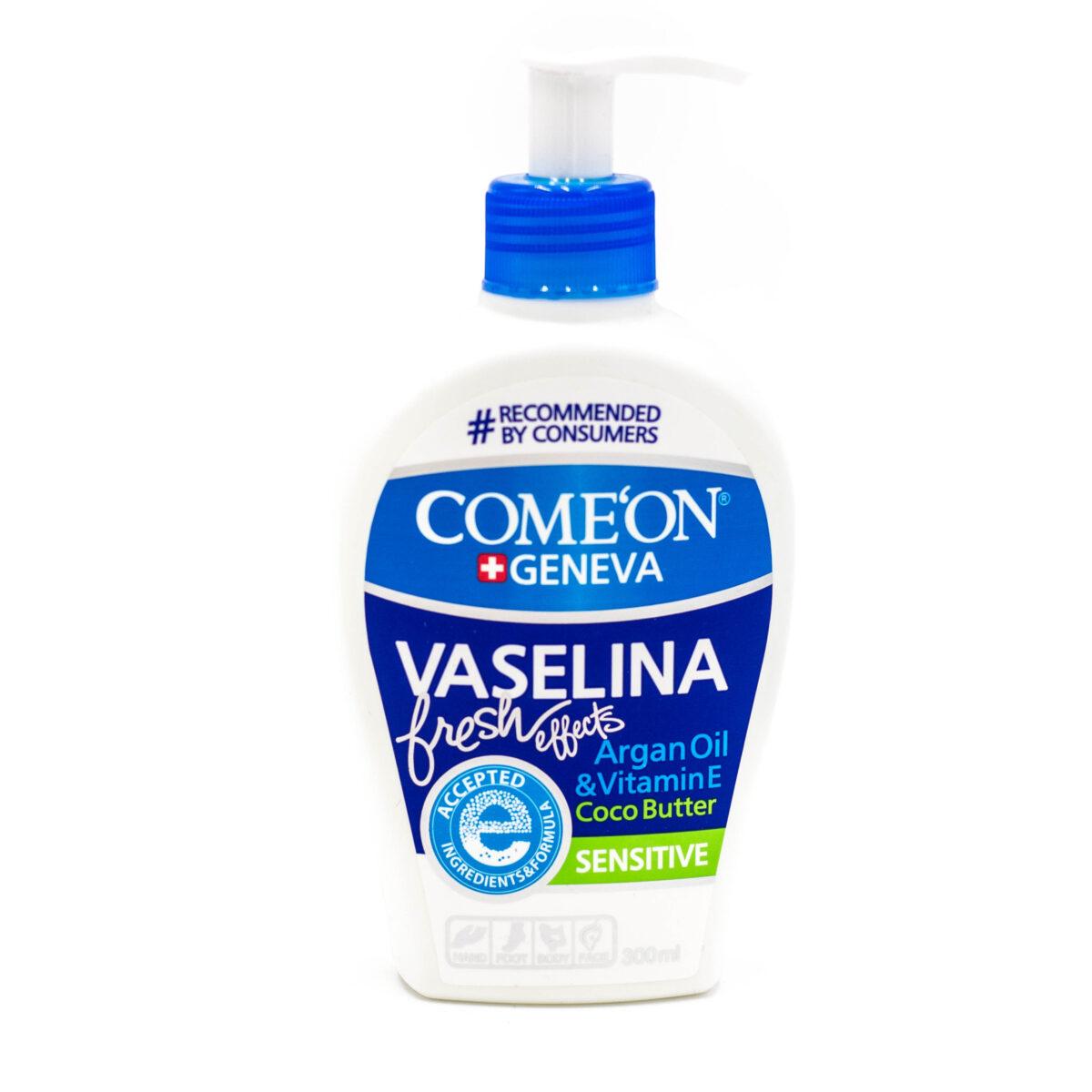 کرم وازلین کامان حجم 300 میلی لیتر Comeon Vaselina Cream