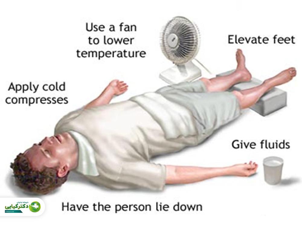 علائم گرمازدگی چیست؟ چگونه فرد گرما زده را مدیریت کنیم؟