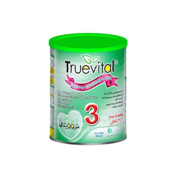 شیرخشک تروویتال 3 یک سال به بالا Truevital 3 Milk Powder