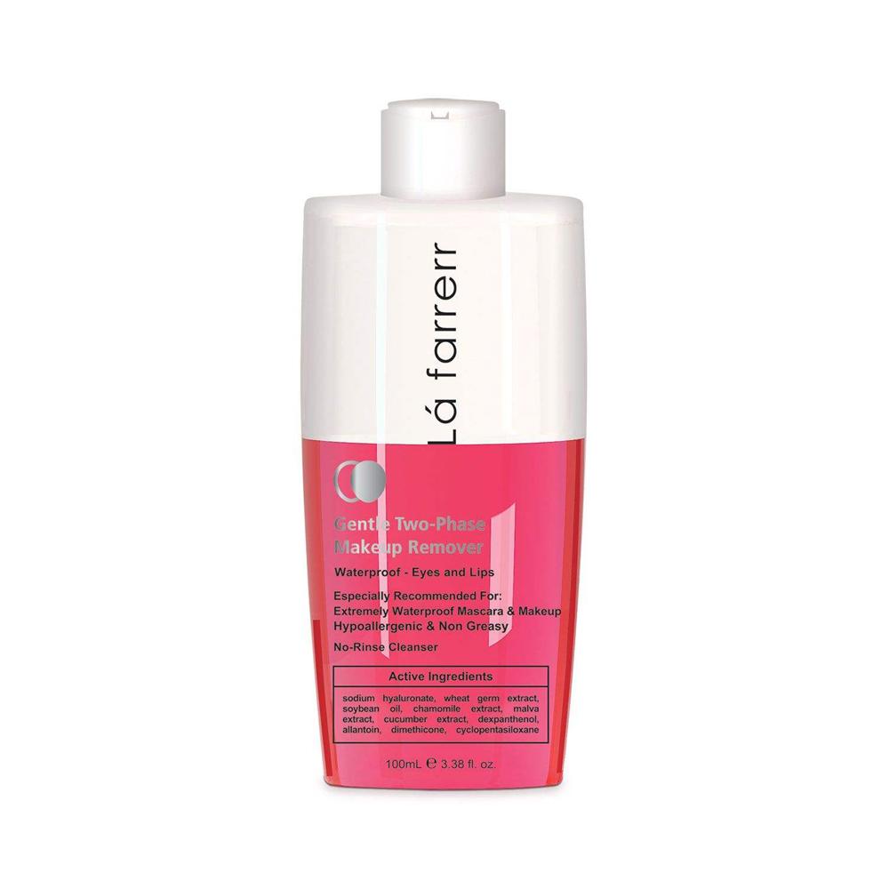 محلول دو فاز پاک کننده آرایش مناسب برای آرایش چشم و لب لافارر Lafarrerr