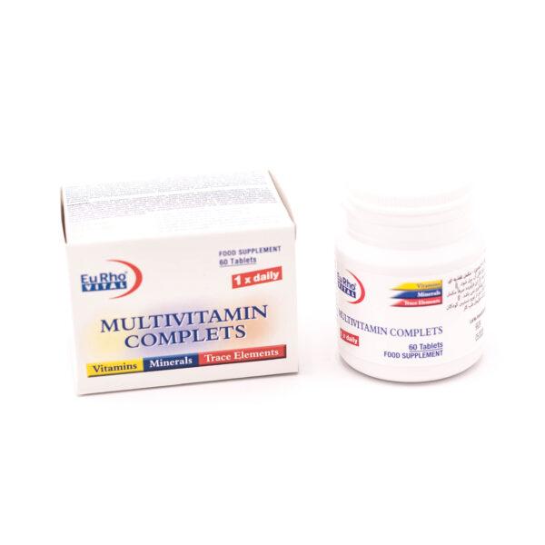 قرص مولتی ویتامین مینرال یوروویتال EuRhoVITAL MULTIVITAMIN COMPLETS