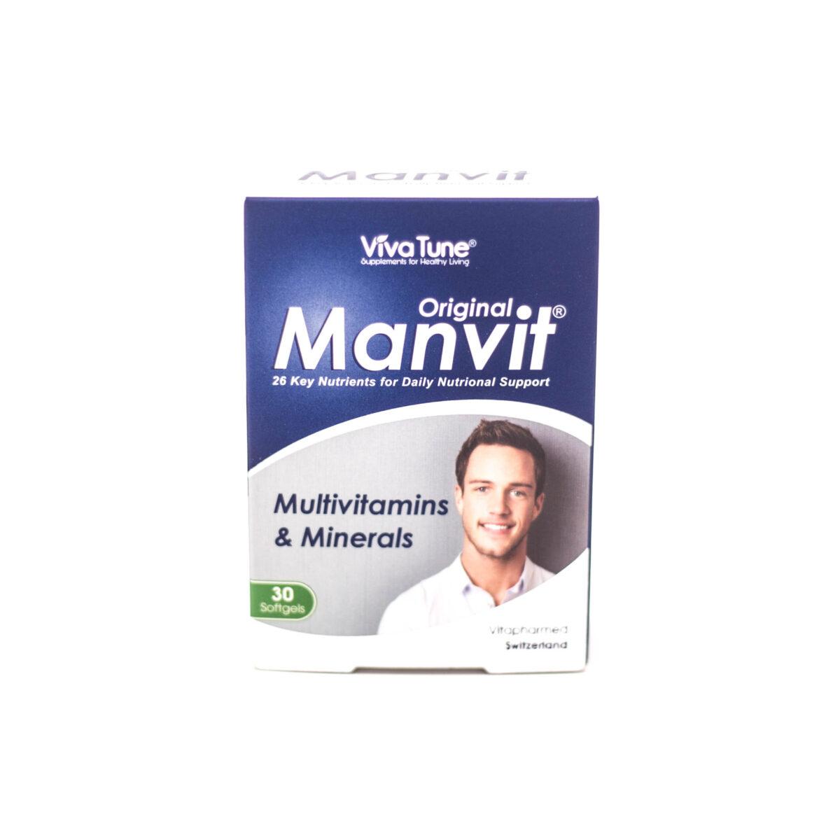کپسول نرم ژلاتینی من ویت اوریجینال ویواتون VivaTune Manvit Original