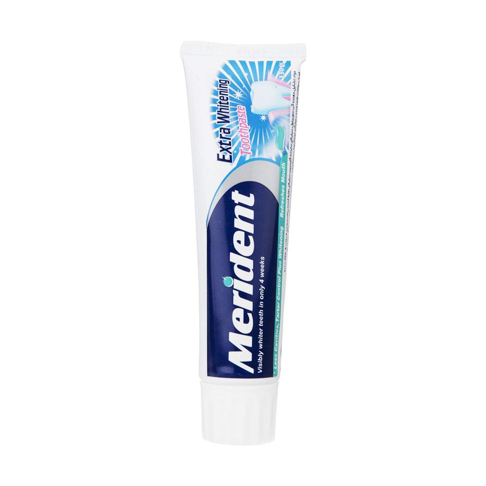 خمیر دندان سفید کننده مریدنت Merident Whitening