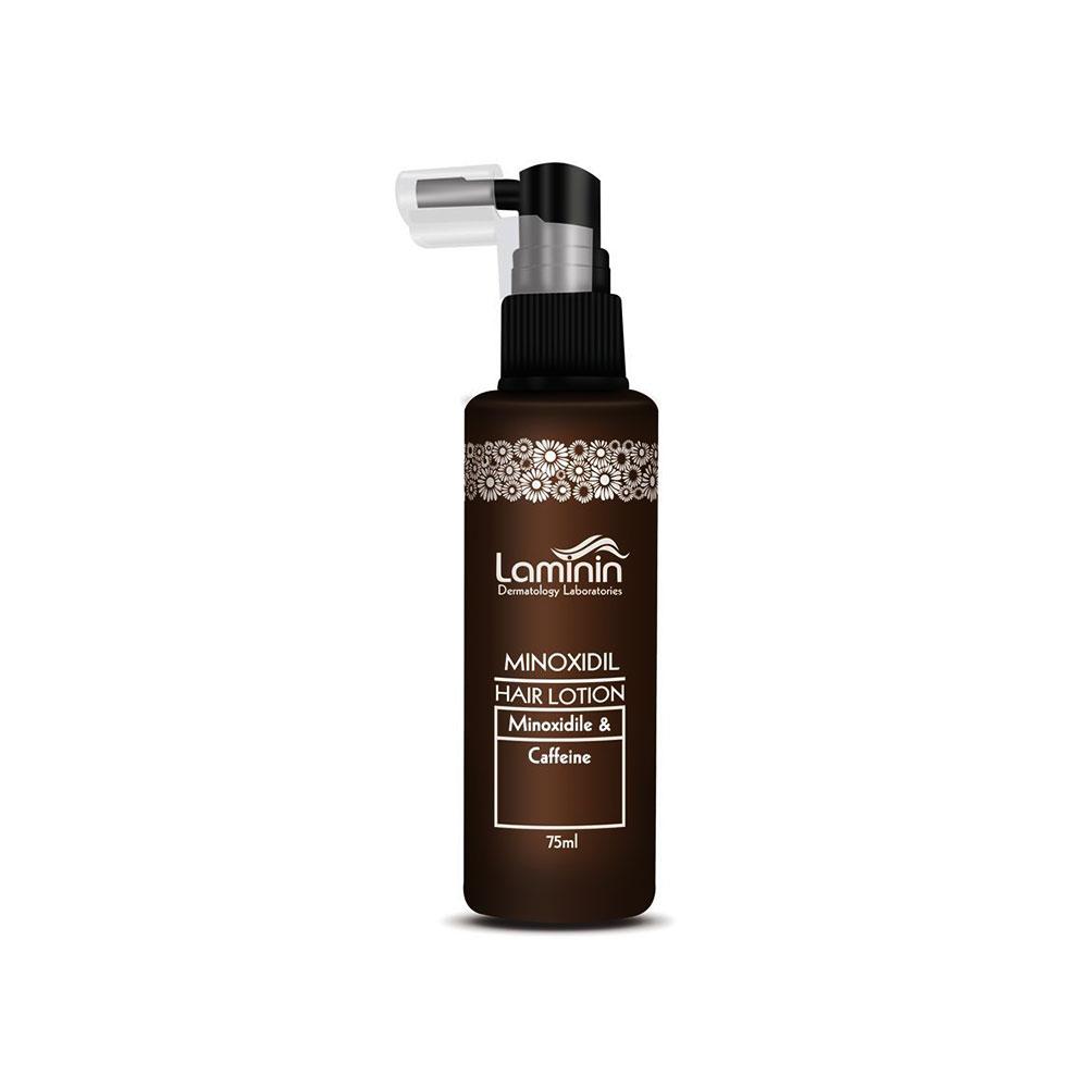 محلول ضد ریزش مو ماینوکسیدیل کافئین لامینین Laminin