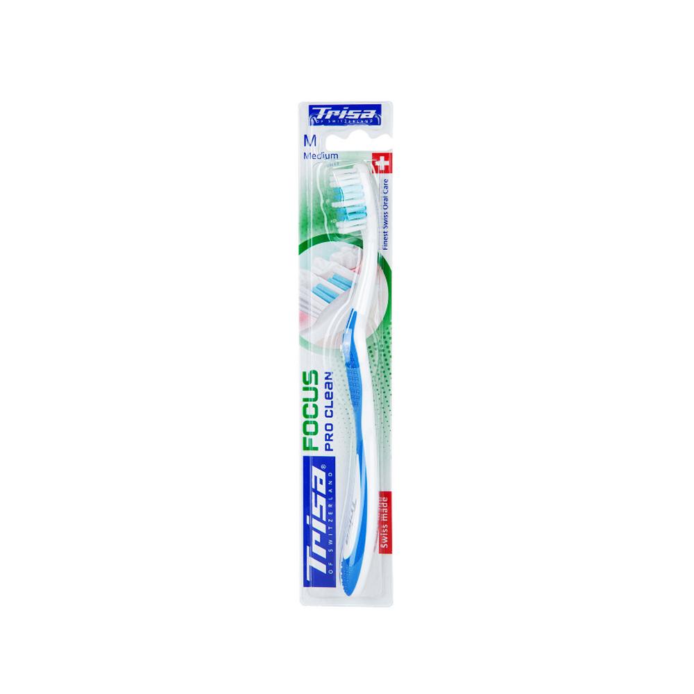 مسواک فوکوس پروکلین بابرس متوسط تریزا Trisa Focus Pro Clean