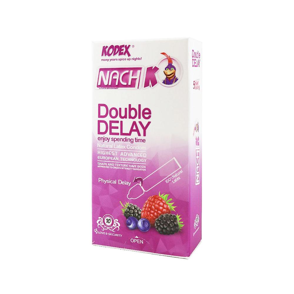 کاندوم تاخیری دوبل کدکس Kodex Double DeLay