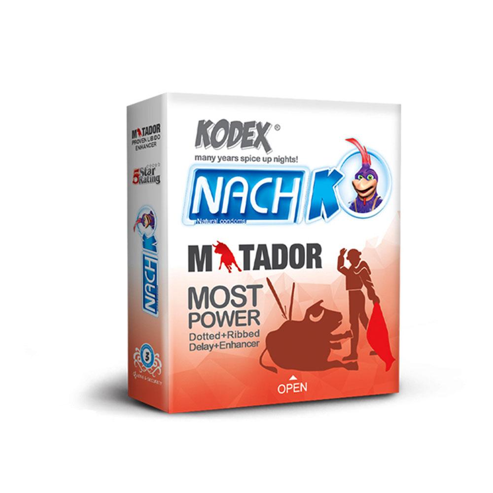 کاندوم خاردار و حلقوی کدکس Kodex Matador