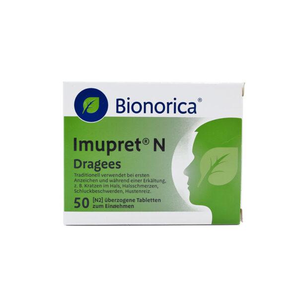 قرص ایموپــرت بیونوریکا Bionorica Imupret® N