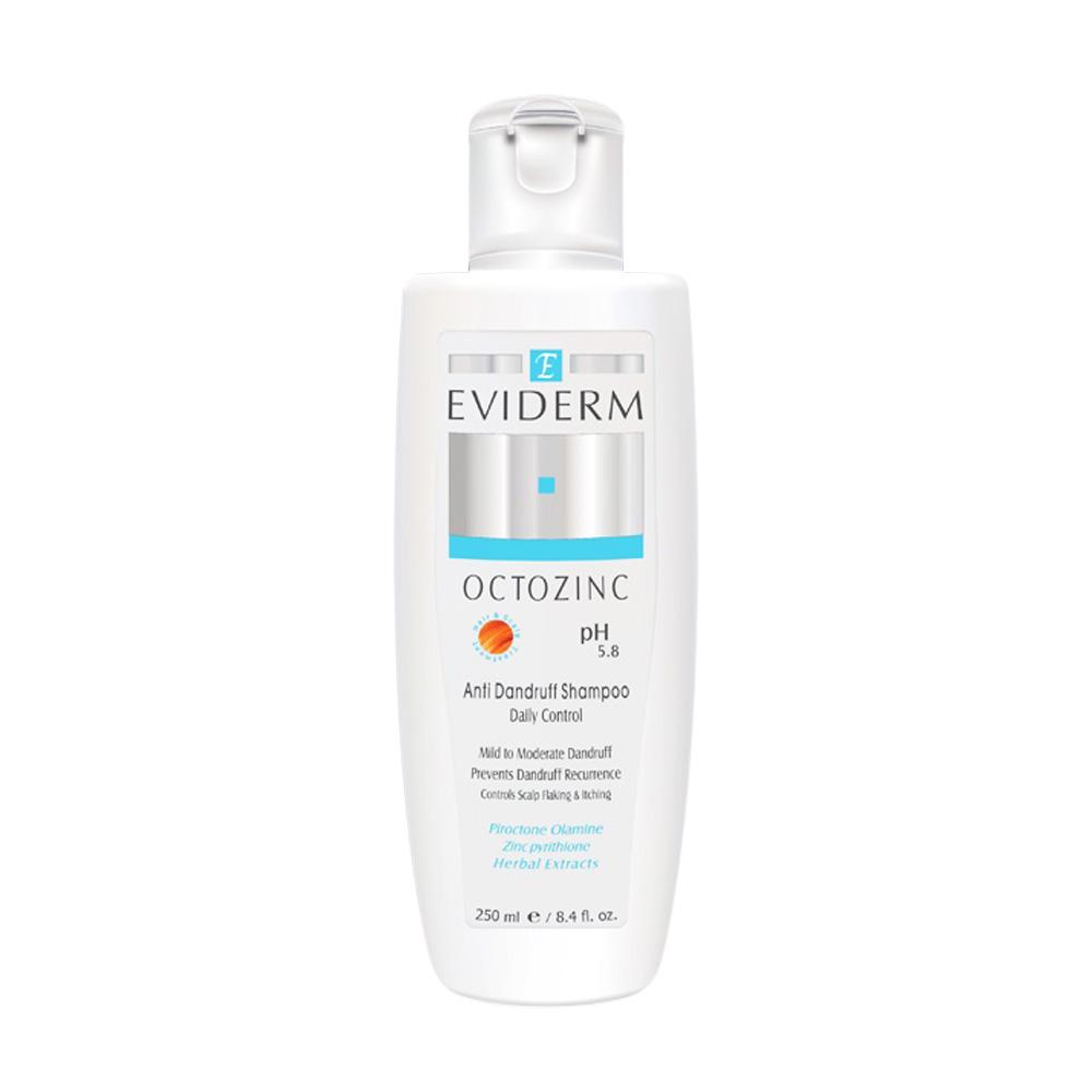 شامپو ضد شوره اکتوزینک اویدرم Eviderm Octozinc Shampoo