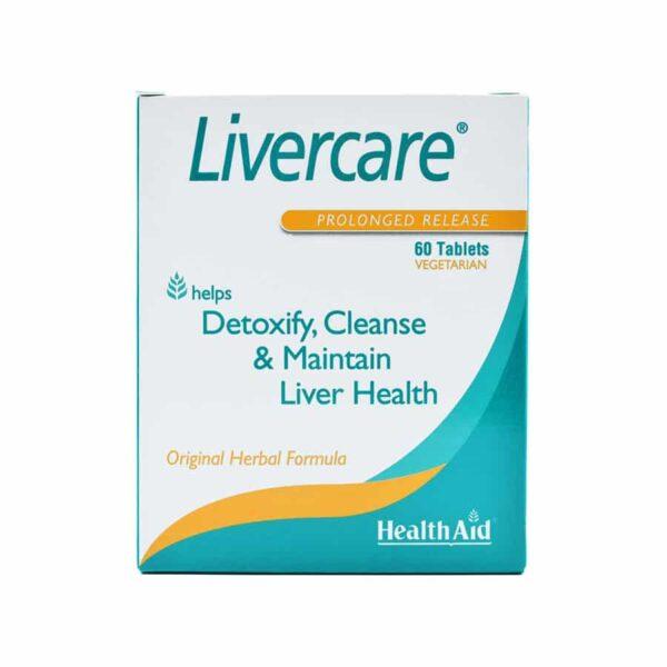 قرص لیورکیر هلث اید HealthAid LiverCare