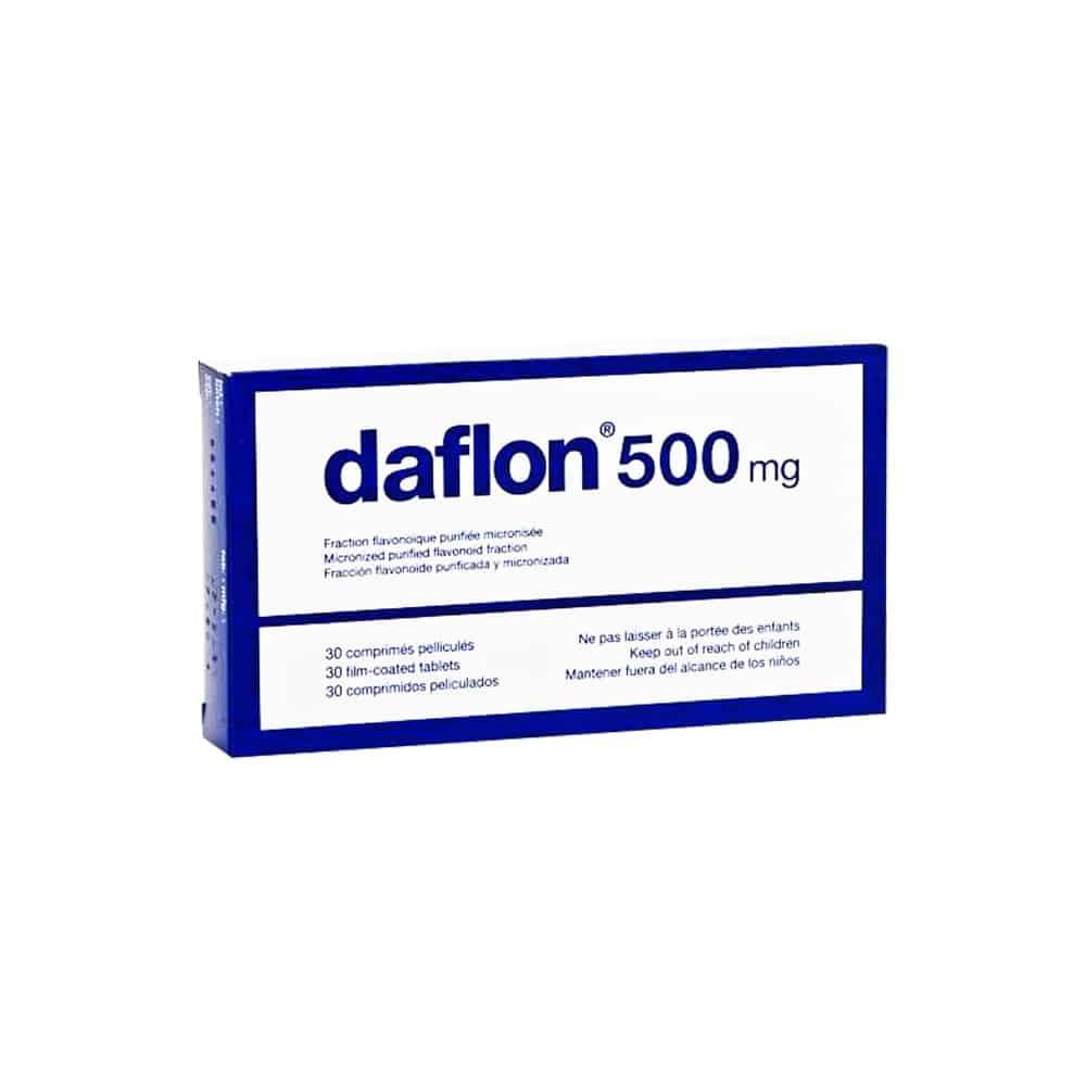 قرص دافلون ۵۰۰ میلی گرم Daflon 500 mg Filmtabletten