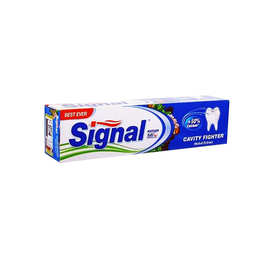 خمیر دندان ضد پوسیدگی عصاره گیاهی سیگنال Signal