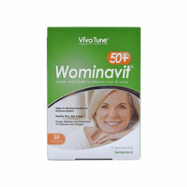 سافت ژل وومیناویت +50 ویواتیون VivaTune Wominavit