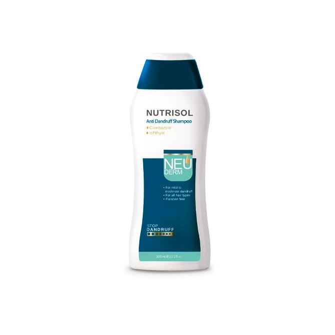 شامپو ضد شوره نوتریسول آنتی دندروف نئودرم Neuderm AntiDandruff Shampoo