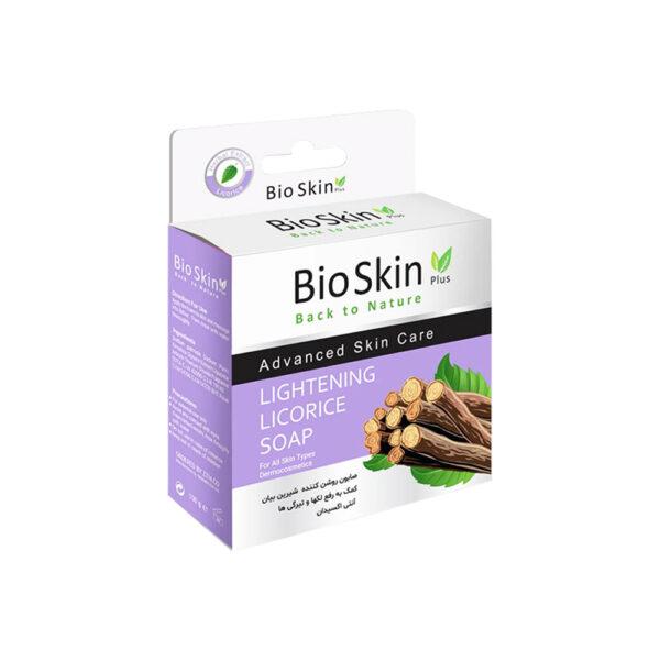 صابون ارگانیک شیرین بیان بایو اسکین پلاس Bio Skin Plus