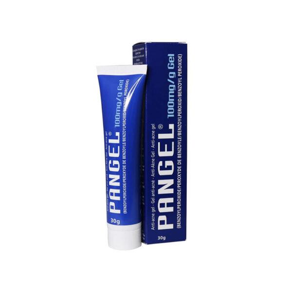 ژل موضعی ضد جوش بنزوئیل پروکساید پانژل ۱۰ درصد پانوک شیمی PANGEL Benzoyl peroxide 10 % Anti-Acne Gel