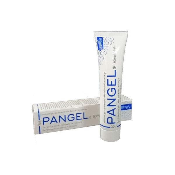 ژل موضعی ضد جوش بنزوئیل پروکساید پانژل ۵ درصد پانوک شیمی PANGEL Benzoyl peroxide 5 % Anti-Acne Gel