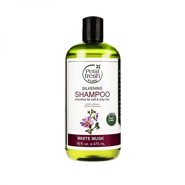 شامپو مناسب موهای چرب پتال فرش PETAL FRESH White Musk