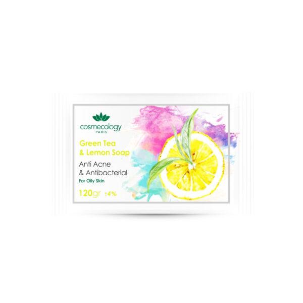 صابون چای سبز و لیمو کاسمکولوژی COSMECOLOGY