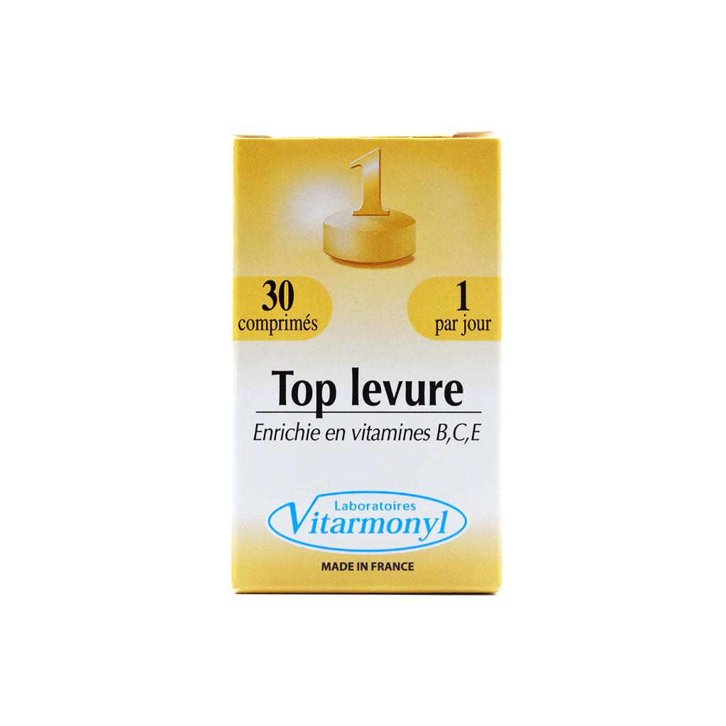 قرص مخمر تاپ لور ویتارمونیل Top Levure vitarmonyl
