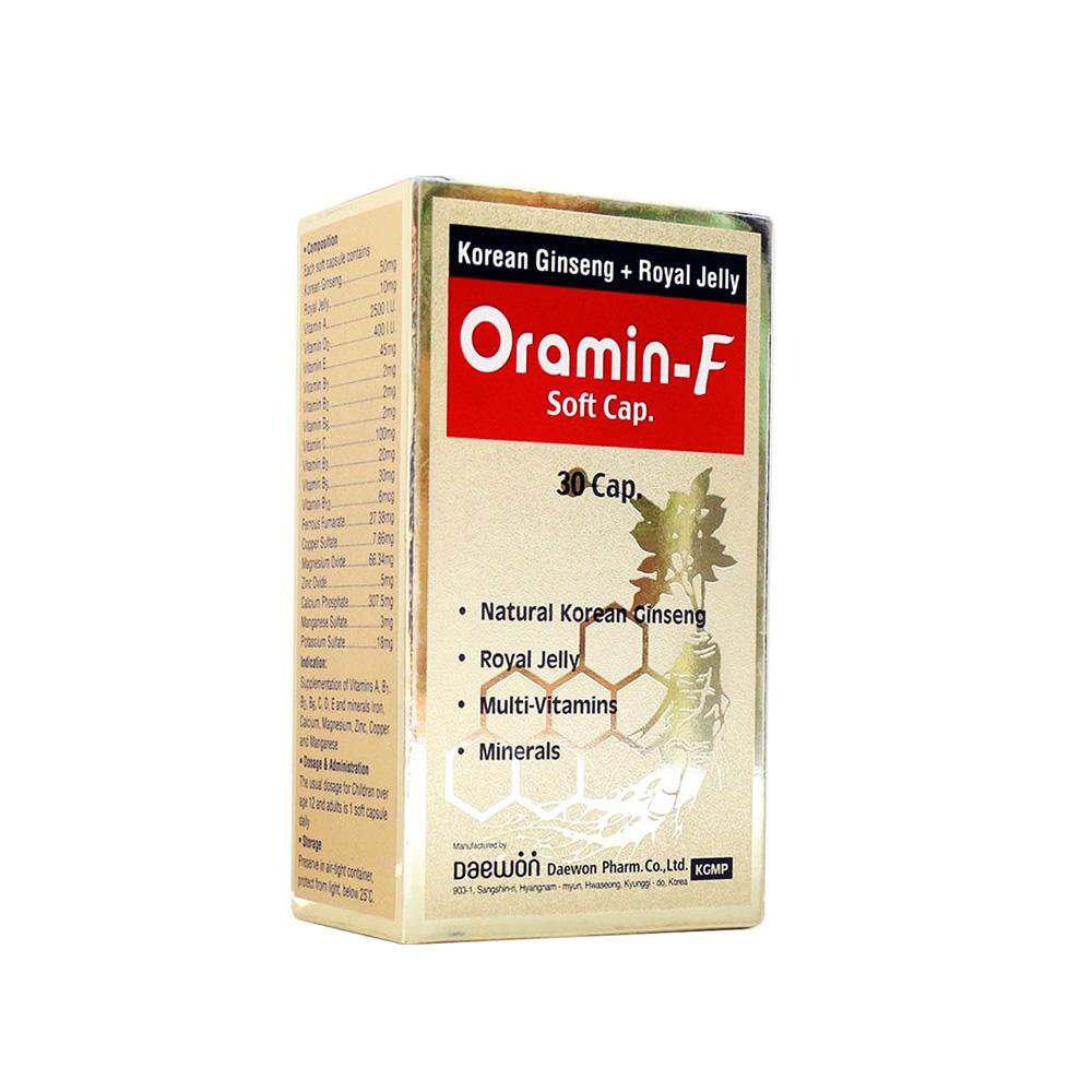 سافت ژل اورامین اف Oramin F SoftGel