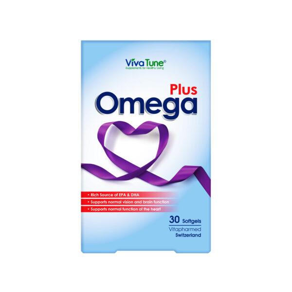 سافت ژل امــگاپــلاس ویواتیون Viva Tune Omega Plus
